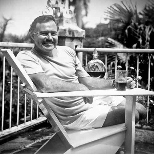 Miksujący Hemingway